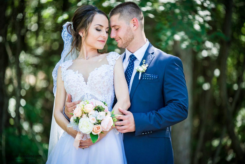 Елица и Цветан сватбен ден враца хотел чайка